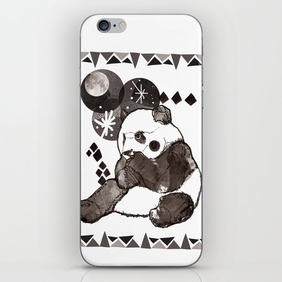 European Panda iPhone & iPod Skin