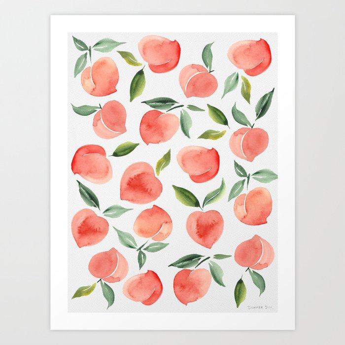 peaches Kunstdrucke