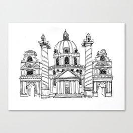 Karlskirche Canvas Print