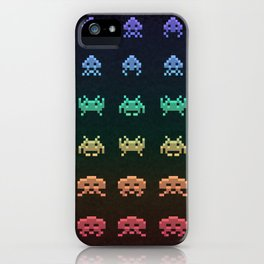 Invader Space iPhone Case