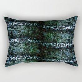 Stripes on wood Rectangular Pillow