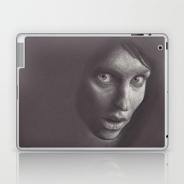 Charcoal Woman Laptop & iPad Skin