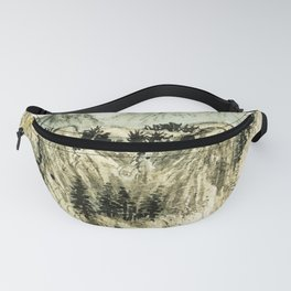 The winding mountain road Fanny Pack