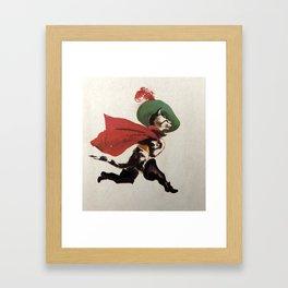 Puss In Boots Framed Art Print