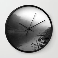 What Lies Below the Surface Wall Clock