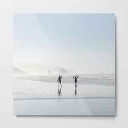 Echo Beach on 2017 New Year's Day Metal Print