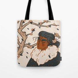 Cherry Blossom Gal Tote Bag