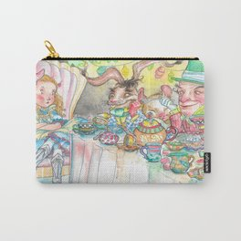 Alice's Mad Tea Party Carry-All Pouch