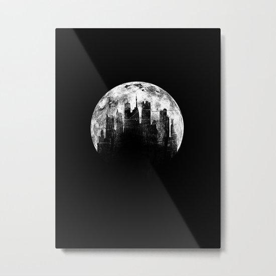 Dead city Metal Print
