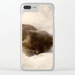 Tiny Tim Clear iPhone Case