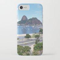 rio de janeiro iPhone & iPod Cases featuring Rio de Janeiro Landscape by Fernando Macedo