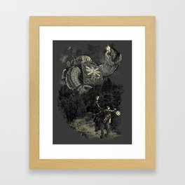 Twenty if by Giant Robot Framed Art Print