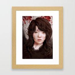 remote past Framed Art Print