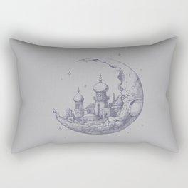 An Arabian Crescent Rectangular Pillow