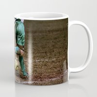 football Mugs featuring Football by Goncalo