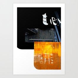 ROUGHCut#10292015 Art Print