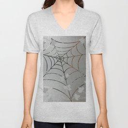 Glass Cobweb Unisex V-Neck