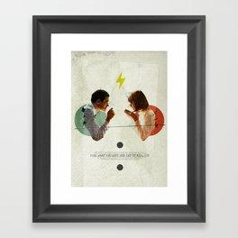Bland | Collage Framed Art Print
