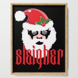 Sleigher | Christmas Xmas Parody Serving Tray