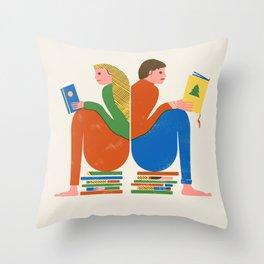 READERS Throw Pillow