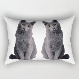 RUSSIAN BLUE Rectangular Pillow