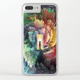 Mindful Perceptions Clear iPhone Case