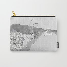 """""""White Women"""" by Virginia McCarthy Carry-All Pouch"""