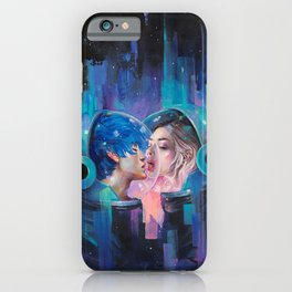 Spherical Love in the Void iPhone Case