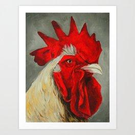 Chicken 3 Art Print