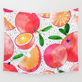 Citrus Love #digitalart #citrus Wall Tapestry