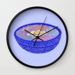 Bibimbap Bowl Wall Clock