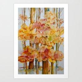 Fall Day Art Print