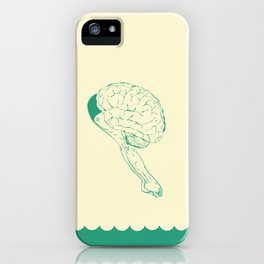 Think or Swim iPhone Case