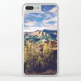 Colorado Sky Clear iPhone Case