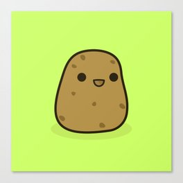 Cute potato Canvas Print