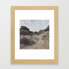 """""""Rocky Peak"""" Framed Art Print"""