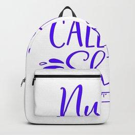 Nurses Call The Shots - Nurse Design Backpack