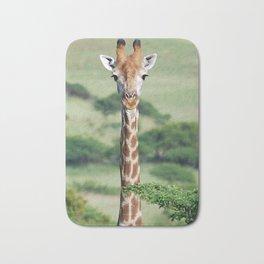 Giraffe Standing tall Bath Mat