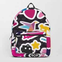 Sticker Frenzy Backpack