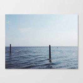 North Sea, The Netherlands Canvas Print
