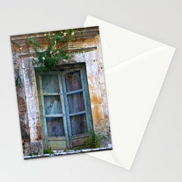 Abandoned Sicilian House in Noto Stationery Cards