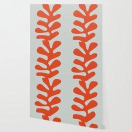 Matisse leaf poster, abstract modern art, framed matisse print, eclectic plant wall decor, contempor Wallpaper