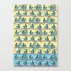 Squirrels! Canvas Print