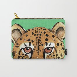 The Cheetah Cat Carry-All Pouch