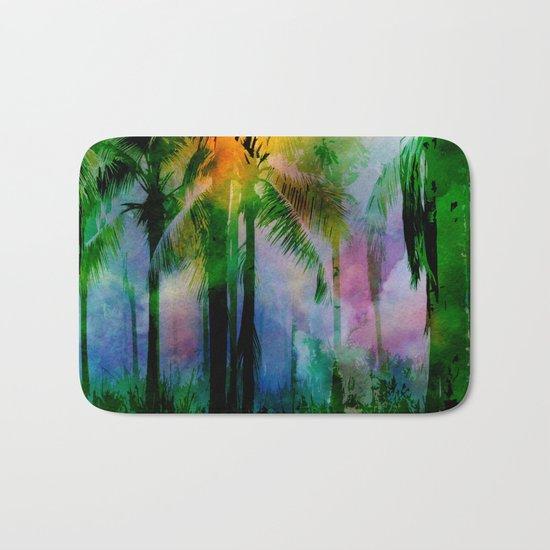 Tropical Sunset 2 Bath Mat