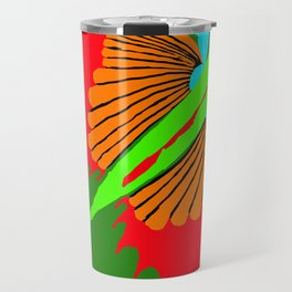 The Spectacular Flying Fish Travel Mug