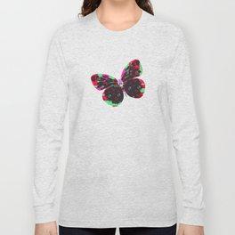 Phosphor butterfly Long Sleeve T-shirt