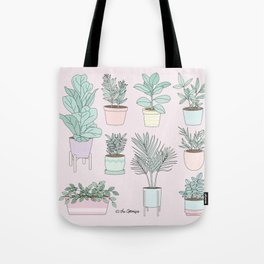 House Plants Guide Tote Bag