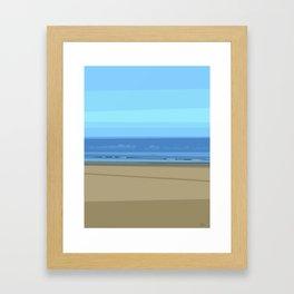 Seascape I - Kijkduin Framed Art Print