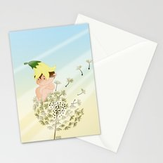 Resting on a dandelion Stationery Cards